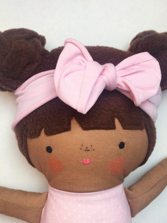 poppenfee pop knotjes stof haarband baby
